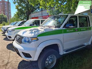 """В рамках нацпроекта """"Экология"""" в 2021 году в Ульяновскую область поступило 23 единицы техники для тушения лесных пожаров"""