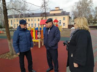 Первый зампредседателя правительства Пензенской области провел рабочую встречу в Никольске, где обсуждались вопросы реализации нацпроекта