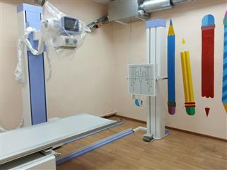 С 1 сентября маленькие пациенты Омутнинской ЦРБ будут обследоваться на новом рентгеновском аппарате