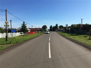 В Уфимском районе Башкортостана в 2020 году отремонтировали 12 км автодорог по нацпроекту