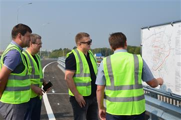 Строительство обходной дороги вокруг Саранска завершится в конце октября
