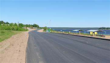 Благодаря нацпроекту отремонтирована востребованная жителями дорога в Полазне