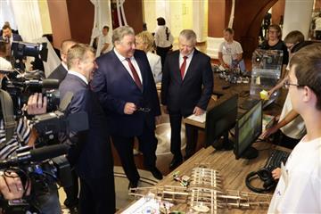 """Национальный проект """"Образование"""": новые школы в Мордовии и """"Точки роста"""""""