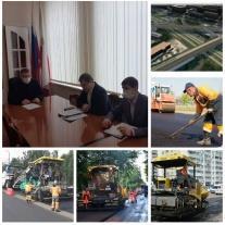 Первый заместитель главы администрации Саратова Сергей Грачев провел рабочую встречу с ресурсоснабжающими организациями