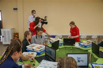 В педагогическом колледже им. Н.К. Калугина Оренбурга открылись современные мастерские