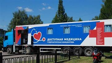 """""""Поезда здоровья"""" побывали в 126 населенных пунктах Нижегородской области"""