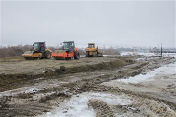 В Пензе активно ведутся дорожные работы на третьем этапе реконструкции улицы 40 лет Октября