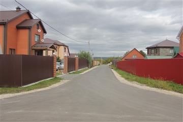 Общественный совет при Минстрое Пензенской области посетил улицу Тихую Засечного сельсовета, отремонтированную по нацпроекту