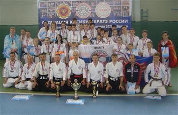 Блестящие победы Жигулевских каратистов на Кубке России