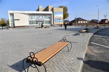 В центре Маркса завершились работы по благоустройству общественных территорий