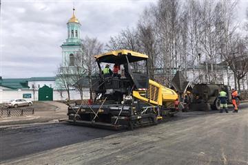 В Кирове активно ведутся дорожные работы в рамках нацпроекта БКАД