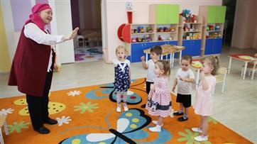 В 2019 году в детские сады Татарстана начали ходить более 3 тыс. детей до трех лет