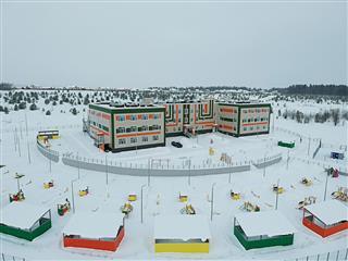 Открылся первый в Пермском районе спортивный детский сад