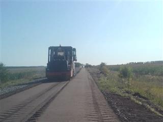 В рамках реализации в Мордовии нацпроектов начался ремонт дороги у поселка Кадошкино