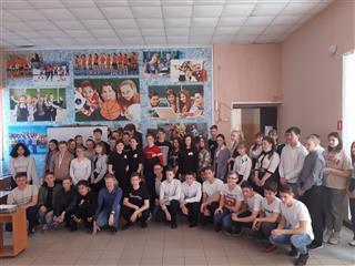 """На неделе нацпроекта """"Образование"""" для школьников Базарносызганского района Ульяновской области провели ряд тематических мероприятий"""