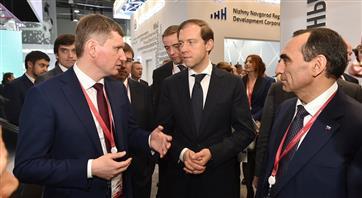 На РИФ-2019 состоялась встреча Министра промышленности РФ с губернатором Пермского края