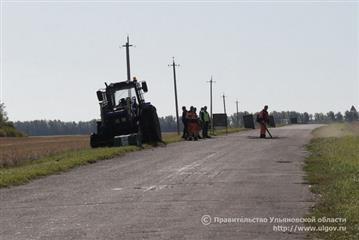 Более 450 км автомобильных дорог отремонтируют в Ульяновской области в 2020 году