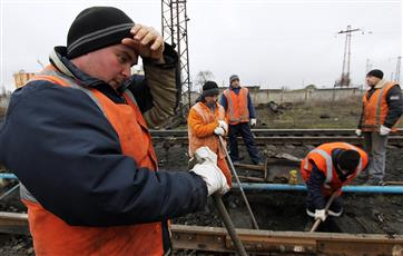 Минтранс планирует за год отремонтировать 5,9 тыс. км железных дорог