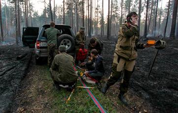 Башкирия к 2024 г. будет полностью оснащена техникой для тушения лесных пожаров