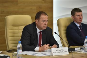 Игорь Комаров провел совещание по реализации нацпроектов в Пермском крае