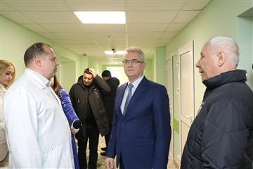 Губернатор Пензенской области поручил оснастить хирургическое отделение детской областной больницы новой мебелью