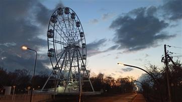 Главная достопримечательность обновленного парка в Отрадном 36-метровое колесо обозрения