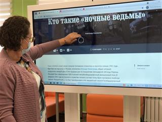 Читателей модельной библиотеки села Генеральское познакомили с историей формирования женских авиаполков в Энгельсе