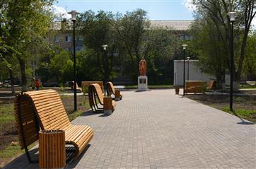 В Оренбуржье завершено благоустройство первых двух общественных территорий