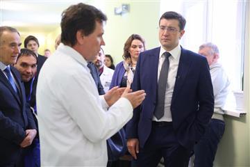 Глеб Никитин проверил работу центра амбулаторной онкологической помощи в Павлове