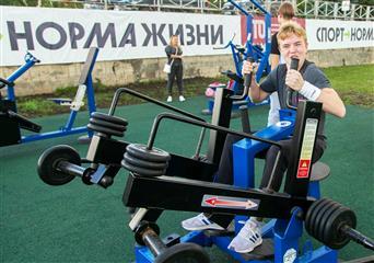 В Самарской области построены 5 площадок комплекса ГТО