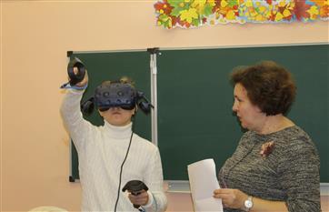 В школах региона уроки в формате виртуальной реальности становятся привычными