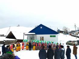 Новый модульный ФАП открыли в деревне Мурадымово