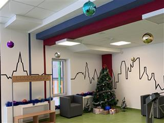 Два корпуса идеального детского сада готовятся к прибытию воспитанников