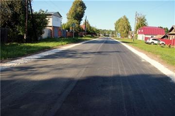 В Моргаушском районе Чувашской Республики благодаря нацпроекту ремонтируют дороги