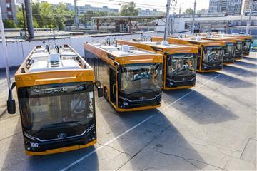 В Самаре благодаря нацпроекту на городской маршрут вышли 22 новых троллейбуса