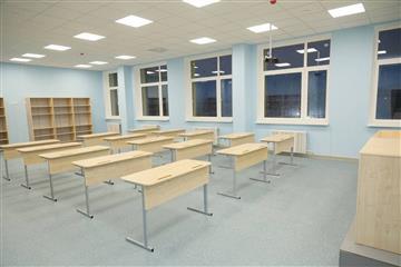 Строительство школы в Новой Самаре полностью завершено