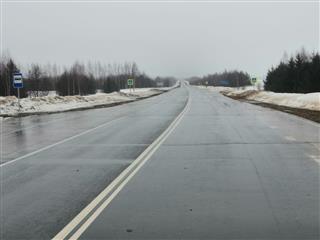 В Нижегородской области на 43-километровом участке дороги Арья - граница Республики Марий Эл установили 727 новых дорожных знаков