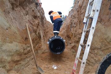С 1 июня жителей Краснокамска подключат к новому водоводу, построенному по нацпроекту