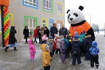 """Новый детский сад """"Анкудиновский парк"""" на 150 мест открылся в Кстовском районе"""