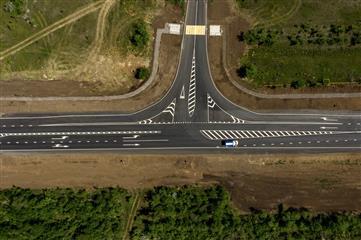 Самарская область: в Красноармейском районе досрочно завершен капремонт региональной трассы