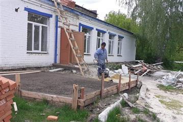 В Лопатинском районе Пензенской области в рамках нацпроекта идет ремонт дома культуры