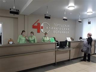 Поликлиника нижегородской городской клинической больницы №40 после капитального ремонта принимает пациентов