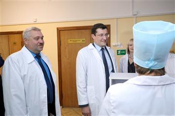 Глеб Никитин поручил провести реконструкцию системы вентиляции в главном здании Шарангской ЦРБ