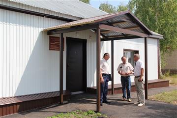 В Бугурусланском районе Оренбургской области отремонтировали четыре ФАПа