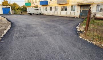 10 дворовых территорий отремонтированы в Пестравском районе в этом году