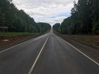 Участок автодороги Глазов-Яр-Пудем в Удмуртии сдан без замечаний