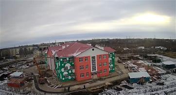 В Чапаевске приступили к благоустройству прилегающей территории нового детского сада