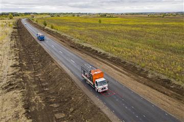 В Самарской области отремонтировали 11 км трассы Самара ― Нур ― Спиридоновка