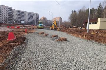 В Кирово-Чепецке начались дорожные работы в рамках нацпроекта БКАД