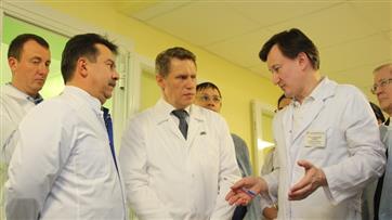 Министр здравоохранения России Михаил Мурашко посетил с рабочим визитом Татарстан